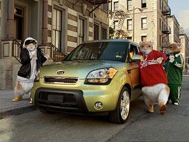 Kia Soul a křečci: Nejlepší automobilová reklama roku