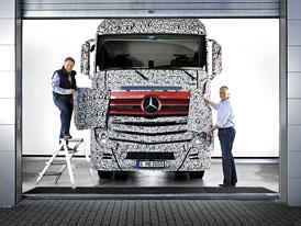 Mercedes-Benz Actros: S motory Euro 6 ji� brzy