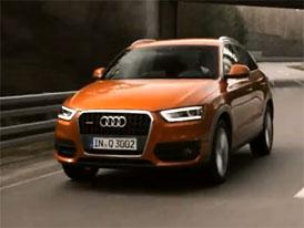 Video: Audi Q3 – Nové SUV staticky i v pohybu
