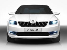 Škoda Vision D: Nové fotografie