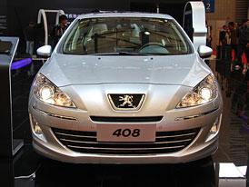 Peugeoty 206, 307 a 408 jako sedany pro Čínu