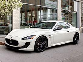 Maserati GranTurismo MC: MC Strada s automatem pro USA
