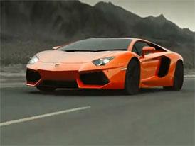 Lamborghini Aventador (2 x video): Apokalypsa + oficiální prezentace v Římě