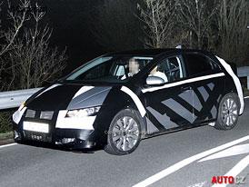 Spy Photos: Honda Civic 9G - Dorazí evropská verze do Frankfurtu?