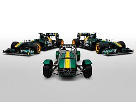 Team Lotus koupil Caterham: Kruh se uzavřel