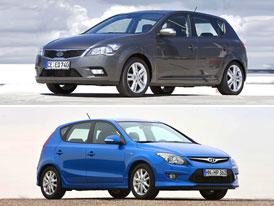 Hyundai i30 vs Kia Cee'd: Co koupit?