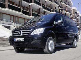 Mercedes-Benz Viano 4Matic: Pro náročný provoz