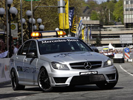 Mercedes-Benz C 63 AMG DTM: Modernizovaný safety car pro DTM