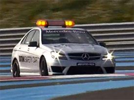 Video: Mercedes-Benz C 63 AMG - Safety car pro DTM