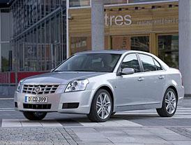 Cadillac BLS: sedan letos, kombi příští rok
