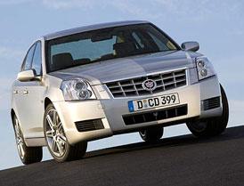 Cadillac BLS zatím prodeje GM v Evropě nezvýšil