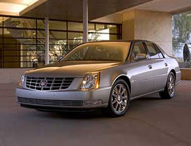 Cadillac DTS: nový křižník pro majetné Američany
