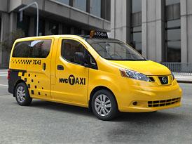 Novým New York Taxi bude Nissan NV200
