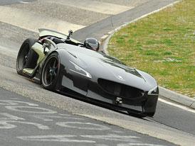 Peugeot EX1: Nejrychlejší elektromobil na Nordschleife (video)
