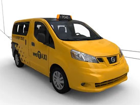 Video: Nissan NV200 � Taxi pro New York