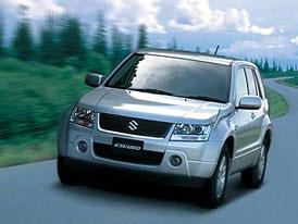 Suzuki Escudo: nová Grand Vitara také pro Evropu