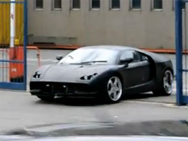 Nové De Tomaso Pantera na prvním videu