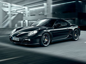 Porsche Cayman S Black Edition: 500 černých, silnějších kajmanů
