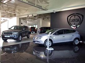 Brněnský Motortec má první autosalon v ČR, kde je Fiat a Chrysler Group pod jednou střechou