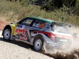 Sardinie – Red Bull Škoda tým poprvé na startu v kompletním složení