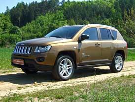 Jeep Compass 2,2 CRD: První jízdní dojmy