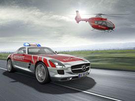 Mercedes-Benz SLS AMG Notarzt: Záchrana přijíždí s hvězdou