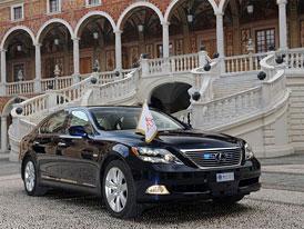 Lexus LS 600h L: Svatební limuzína monackého knížete