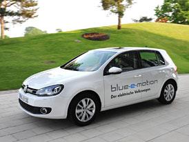 VW Golf blue-e-motion vyjíždí do zkušebního provozu