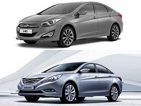 Hyundai i40 a Sonata: Srovnání modelů