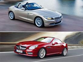 BMW Z4 vs. Mercedes-Benz SLK: Designov� duel