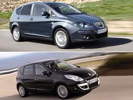 Renault Scénic vs SEAT Altea XL: Co koupit?