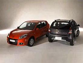 Video: Renault Sandero – Modernizace pro Jižní Ameriku