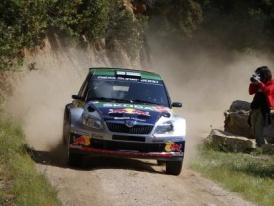 Rally Sardinie - Red Bull Škoda tým opět na pódiu (+ fotogalerie)
