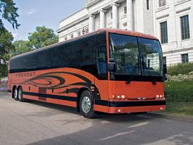 Volvo Buses: 61 autobusů pro Greyhound Lines