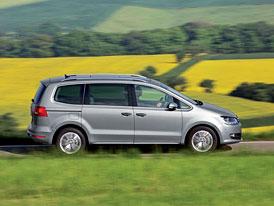 VW Sharan 2,0 TDI 4Motion: Pohon všech kol i pro VW