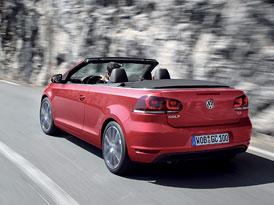 VW Golf Cabriolet: �esk� ceny za��naj� na 499.900,-K�