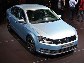 VW Passat BlueMotion: 4,1 l/100 km za 619.900,- Kč