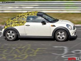 Spy Photos: MINI Coupé a MINI Roadster na Nürburgringu