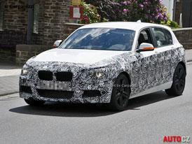 Spy Photos: BMW 1 M Hatchback (135i M paket, F20) - první foto