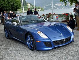 Nová Ferrari na cestě: 458 Spider, nástupce 599 GTB Fiorano
