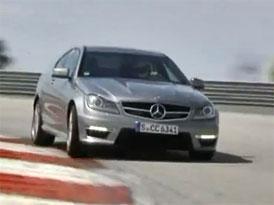 Video: Mercedes-Benz C 63 AMG Coupé – 336 kW v akci
