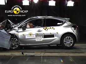 Euro NCAP 2011: Citroën DS4 – Pět hvězd