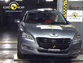 Euro NCAP 2011: Peugeot 508 – Pět hvězd