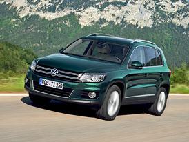 VW Tiguan po faceliftu: Nové fotografie, technická data, nové informace