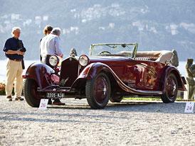 Alfa Romeo na Concorso d'Eleganza Villa d'Este 2011: Dvoje vavříny