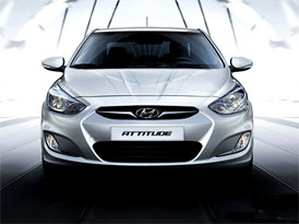 Hyundai Accent jako Dodge Attitude na mexickém trhu