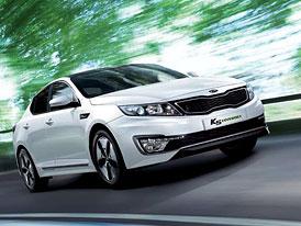 Kia K5 Hybrid na korejském trhu