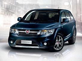Fiat Freemont: Nové foto, technická data, italské ceny