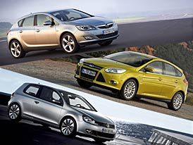 Ford Focus 1,6 Ti-VCT vs Astra a Golf: Co koupit?