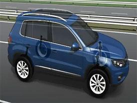 Video: Volkswagen Tiguan – Animace asistenčních systémů